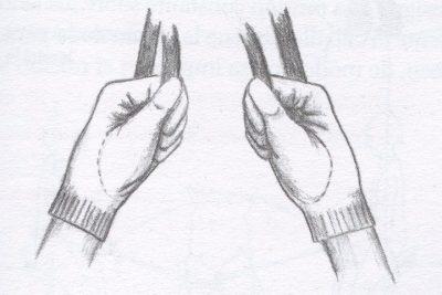 acción de las manos en equitación